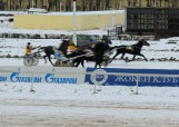 Race action from Moscow Hippodrome, December 2013