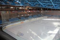 Inside the Stadio Olimpico.