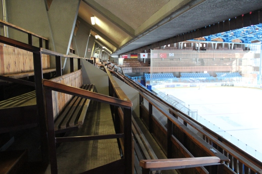 Seating at the Stadio Olimpico.