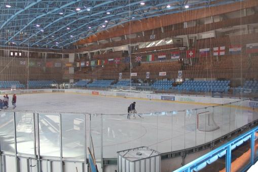Inside the Stadio Olimpico