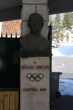 Giulio Oneste, organiser of the 1956 Winter Olympics.