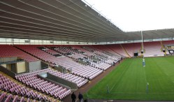 Inside the Darlington Arena.