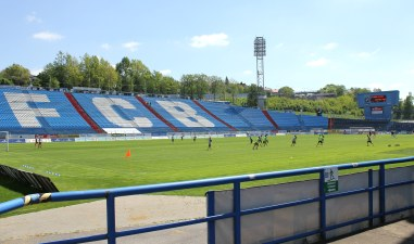Bazaly, the former home of Banik Ostrava.