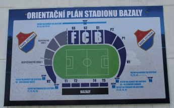 A stadium plan for Bazaly.