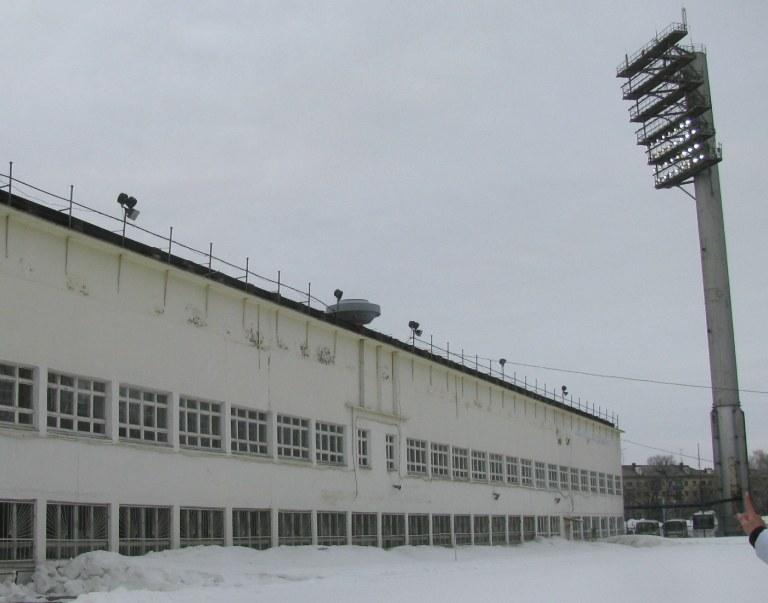 lokomotiv stadium nizhny novgorod exterior
