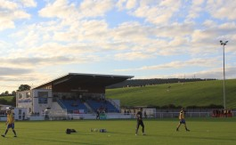 Penrith's Frenchfield Park home on a beautiful late summer evening.