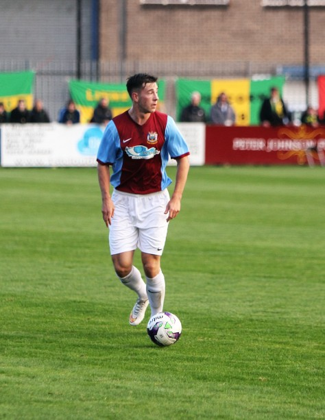 Robert Briggs, scorer of South Shields' winning goal.