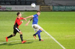 Action from Ryton's FA Youth Cup trip to Rochdale.