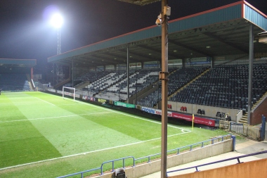Spotland Stadium, Rochdale.