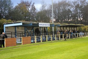 Moore Lane Park, home of Newton Aycliffe FC.