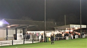 Northallerton Town's Ainderby Road ground.