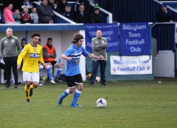 Billingham Town forward Craig Hutchinson.