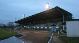 The main stand at Central Avenue, Billingham Synthonia.