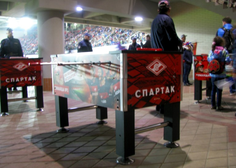 spartak table footballl