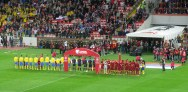 Russia and Sweden take to the field for their Euro 2016 qualifier.