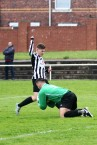 Action from Horden vs Felling Magpies in a pre-season friendly.