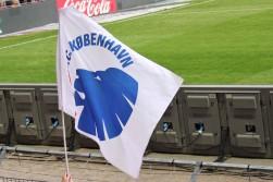 An FC Kobenhavn flag.