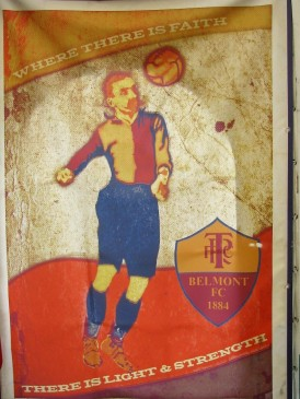 Belmont FC, the forerunners of Tranmere Rovers.