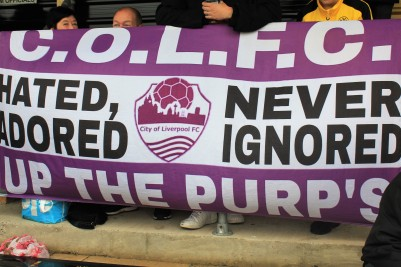 City of Liverpool banner.