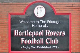 Hartlepool Rovers' Friarage ground.