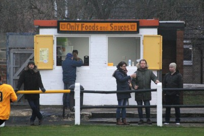 The Crook Town tea hut. This time next year ...