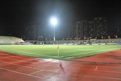 Strogino's Yantar Stadium, Moscow.