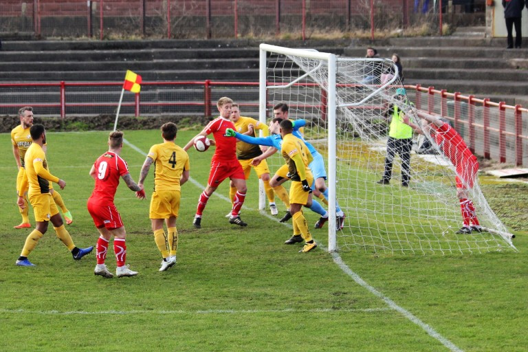 goalmouth action