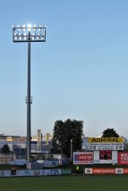 floodlight and scoreboard
