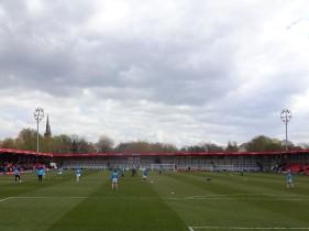 Salford City's Moor Lane ground.