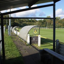 The dugouts at Boldon CA.