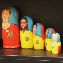 A Russian doll celebrates Kuban's star players.